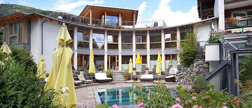Hotel Eschenhof, Bad Kleinkirchheim, Austria - pool area and terrace.jpg